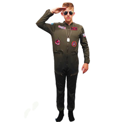 Top Gun Hire Costume - The Ultimate Party Shop