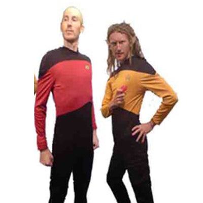 Star Trek Shirt Hire Costume - The Ultimate Balloon & Party Shop