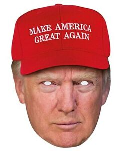 Donald Trump Mask - Make America Great - The Ultimate Party Shop