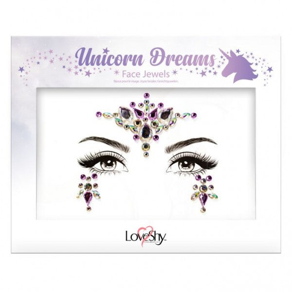 Glitter Face Jewels - Unicorn Dreams - The Ultimate Balloon & Party Shop