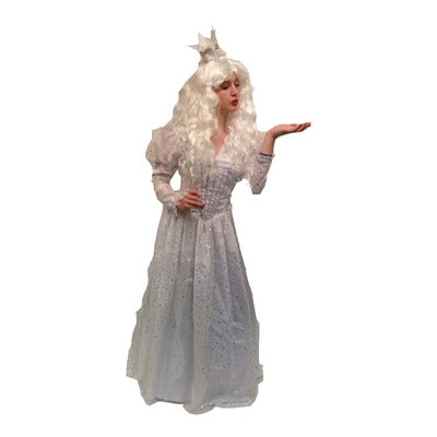 The White Queen from Tim Burtons Film Hire Costume