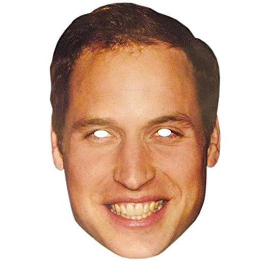 Prince William Mask - The Ultimate Party Shop