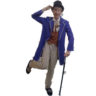 Willy Wonka Hire Costume