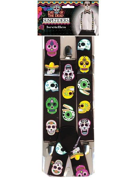 Day Of The Dead - Braces - The Ultimate Party Shop
