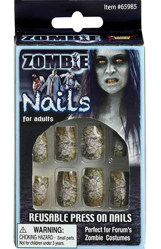 Halloween Nails - Zombie