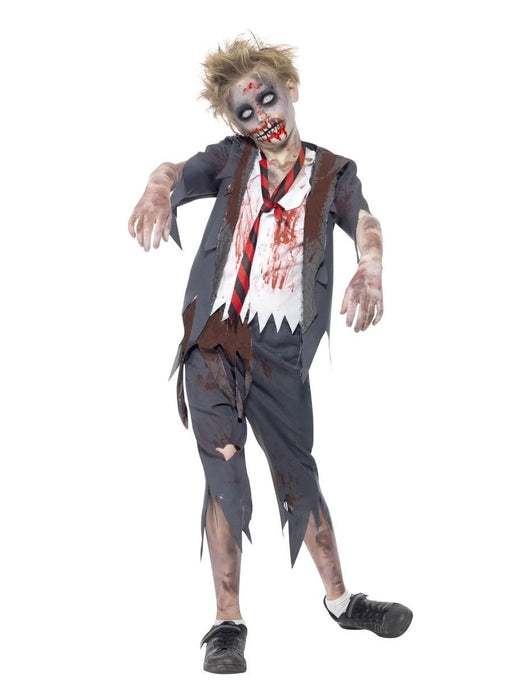 Zombie School Boy Costume - The Ultimate Party Shop