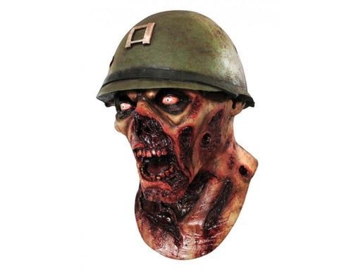 Zombie Soldier Overhead Mask - The Ultimate Party Shop
