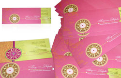 200 Elegant customized Invitations for a Wedding
