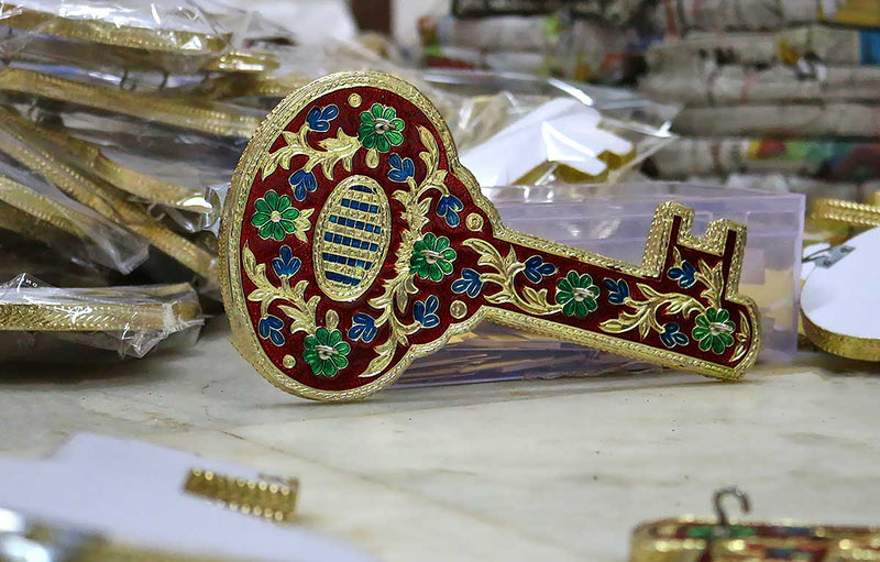 230 Pcs Minakari Key Shaped Key Hanger for a Wedding in Chennai