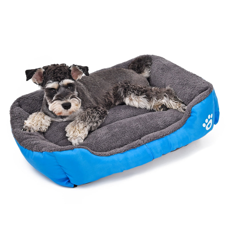 Warm Candy Coloured Dog Bed