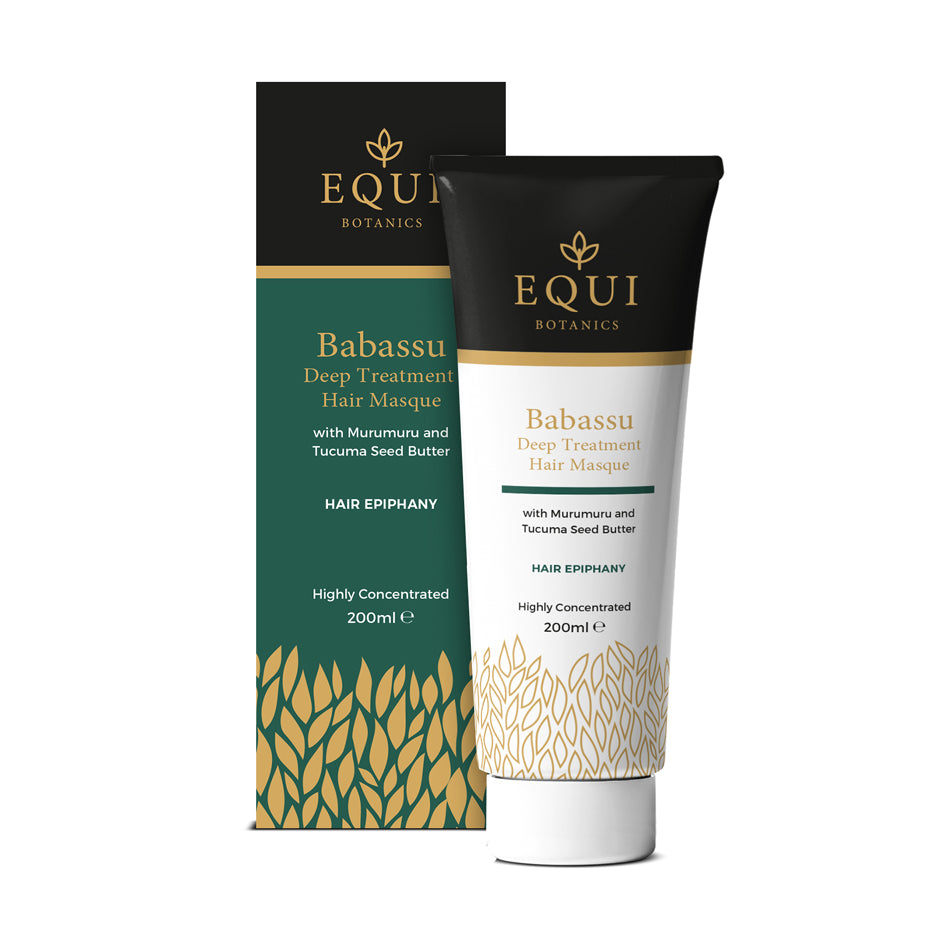 Babassu Deep Treatment Masque with Murumuru and Tucuma Seed Butter - Equi Botanics