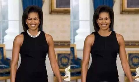 IC-Style With and without jewelryMichelle Obama