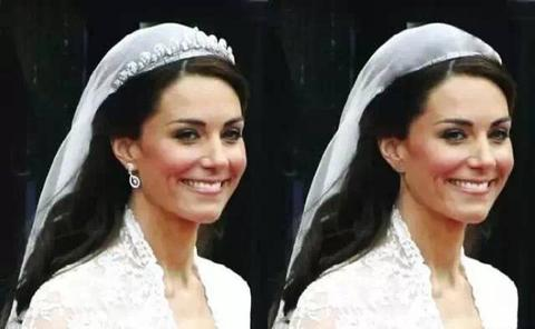 IC-Style With and without jewelry Princess Kate.