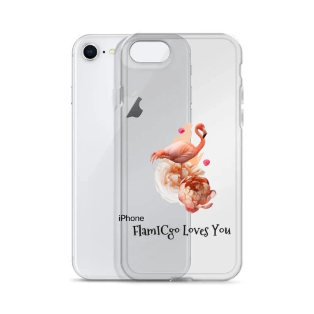 IC-Style Transparent FlamICgo iPhone Case - [icinstyle]