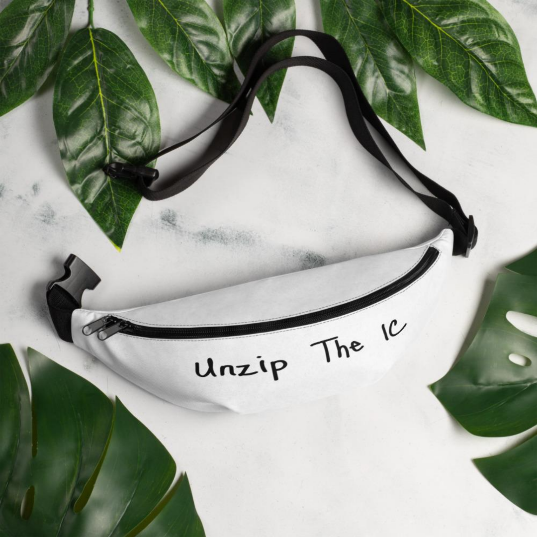 IC-Style Luxury Casual Unzip IC Fanny Pack - [icinstyle]