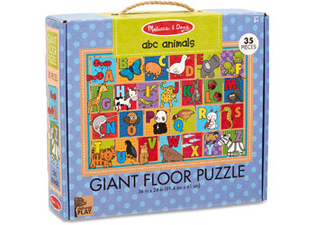 GIANT FLOOR PUZZLE - ABC