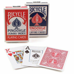 BICYCLE PINOCHLE JUMBO INDEX PLAYING CARDS