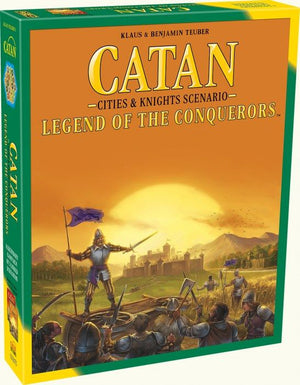CATAN: LEGEND OF THE CONQUERORS CITIES AND KNIGHTS SCENARIO