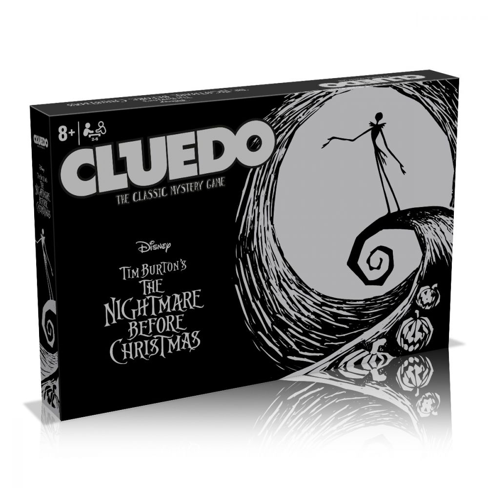CLUEDO - NIGHTMARE BEFORE CHRISTMAS