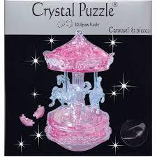 3D CRYSTAL PUZZLE: CAROUSEL