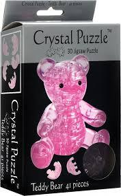 3D CRYSTAL PUZZLE: TEDDY BEAR