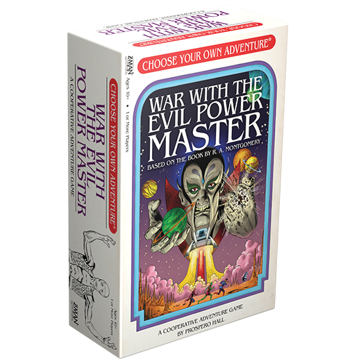 CHOOSE YOUR OWN ADVENTURE: WAR WITH EVIL POWER MASTER