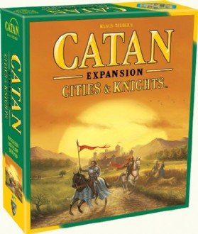 Load image into Gallery viewer, CATAN: CITIES AND KNIGHTS EXPANSION (5TH ED)