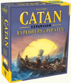 CATAN: EXPLORERS AND PIRATES EXPANSION (5TH ED)