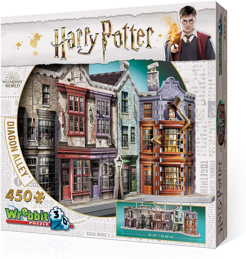 3D HARRY POTTER PUZZLE: DIAGON ALLEY