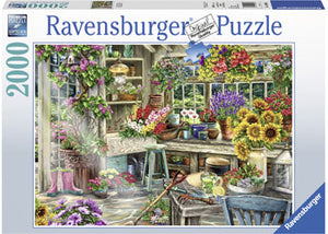 Load image into Gallery viewer, RAVENSBURGER GARDNER'S PARADISE PUZZLE