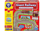 GIANT RAILWAY FLOOR PUZZLE