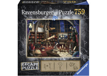Load image into Gallery viewer, RAVENSBURGER ESCAPE THE OBSERVATORY PUZZLE