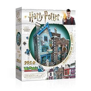 Load image into Gallery viewer, 3D HARRY POTTER PUZZLE OLLIVANDER'S AND SRIBBULUS