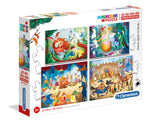 ONCE UPON A TIME PUZZLE 4 IN 1