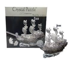 3D CRYSTAL PUZZLE: PIRATE SHIP