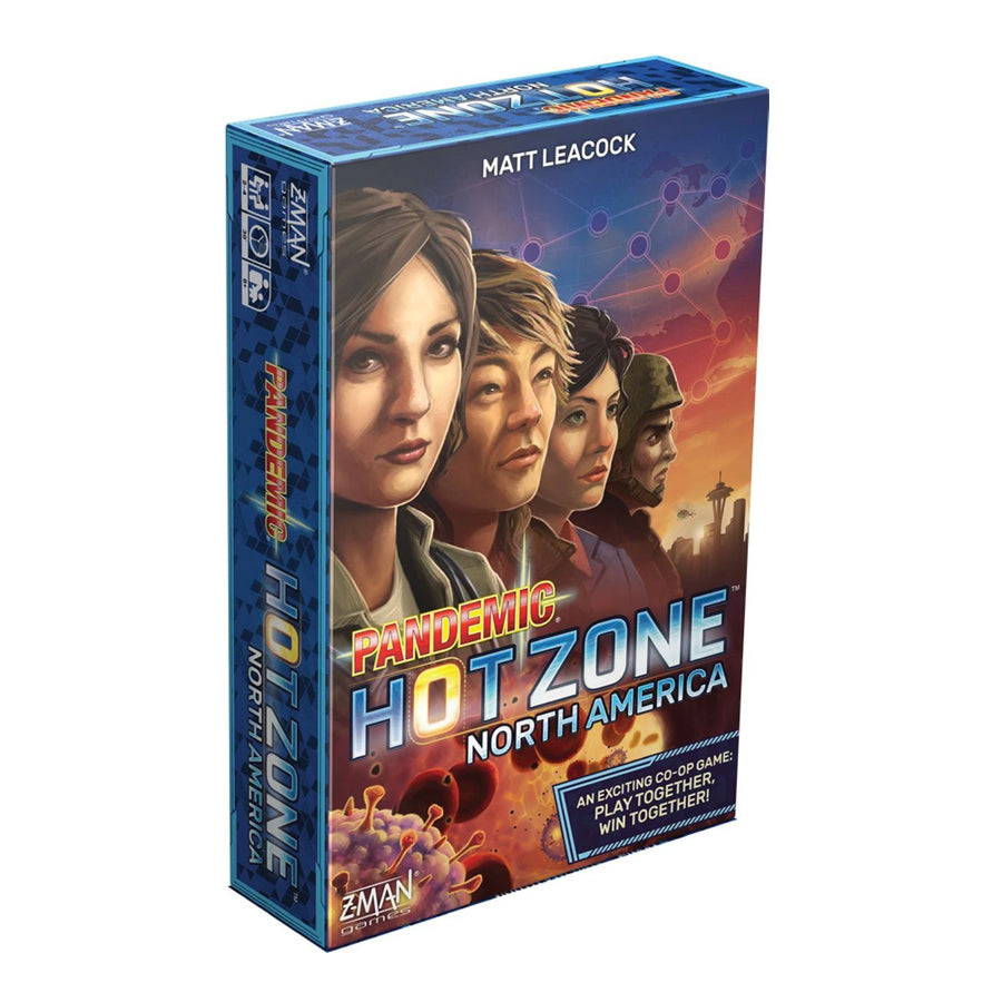PANDEMIC HOT ZONE - NORTH AMERICA