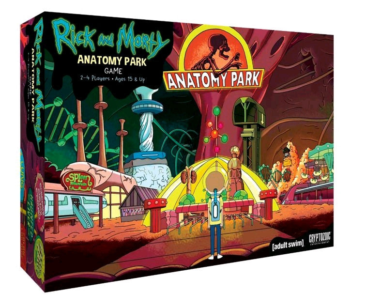 RICK AND MORTY ANATOMY PARK GAME
