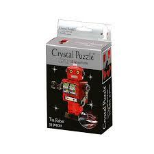 3D CRYSTAL PUZZLE: ROBOT RED