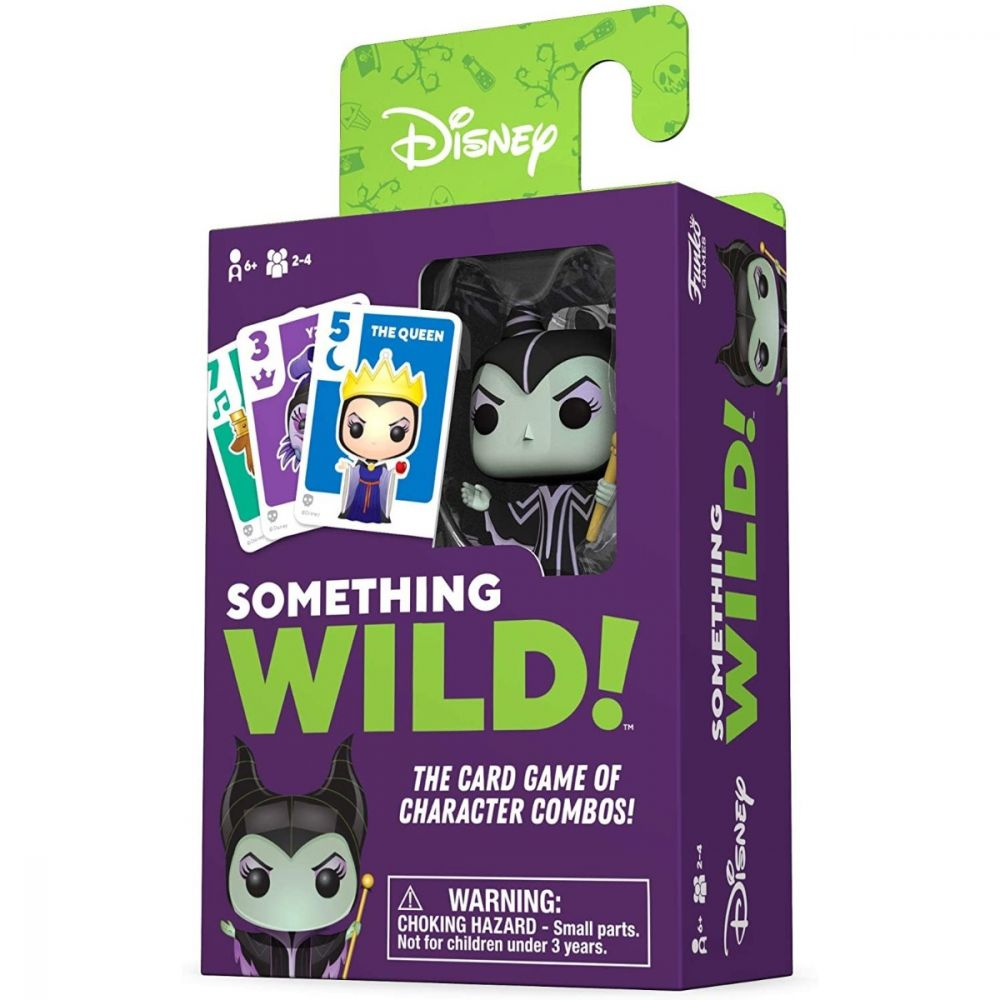 Load image into Gallery viewer, DISNEY SOMETHING WILD CARD GAME - VILLAINS