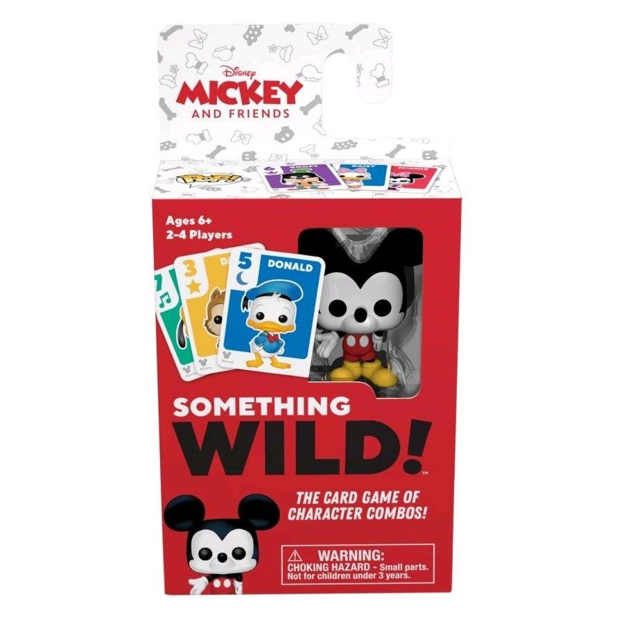 DISNEY SOMETHING WILD CARD GAME - MICKEY MOUSE