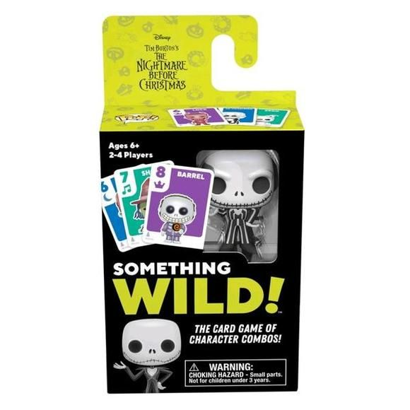 DISNEY SOMETHING WILD CARD GAME - NIGHTMARE BEFORE CHRISTMAS