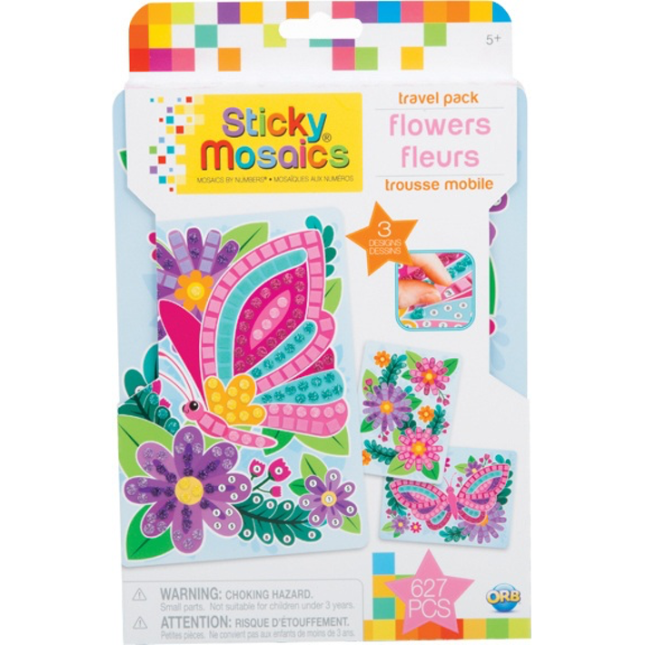 Load image into Gallery viewer, STICKY MOSACIS: FLOWERS