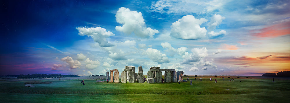 STEPHEN WILKES DAY TO NIGHT - STONEHENGE