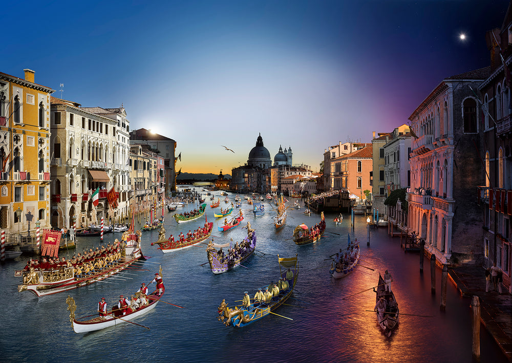 Load image into Gallery viewer, STEPHEN WILKES DAY TO NIGHT - REGATA STORICA, VENICE