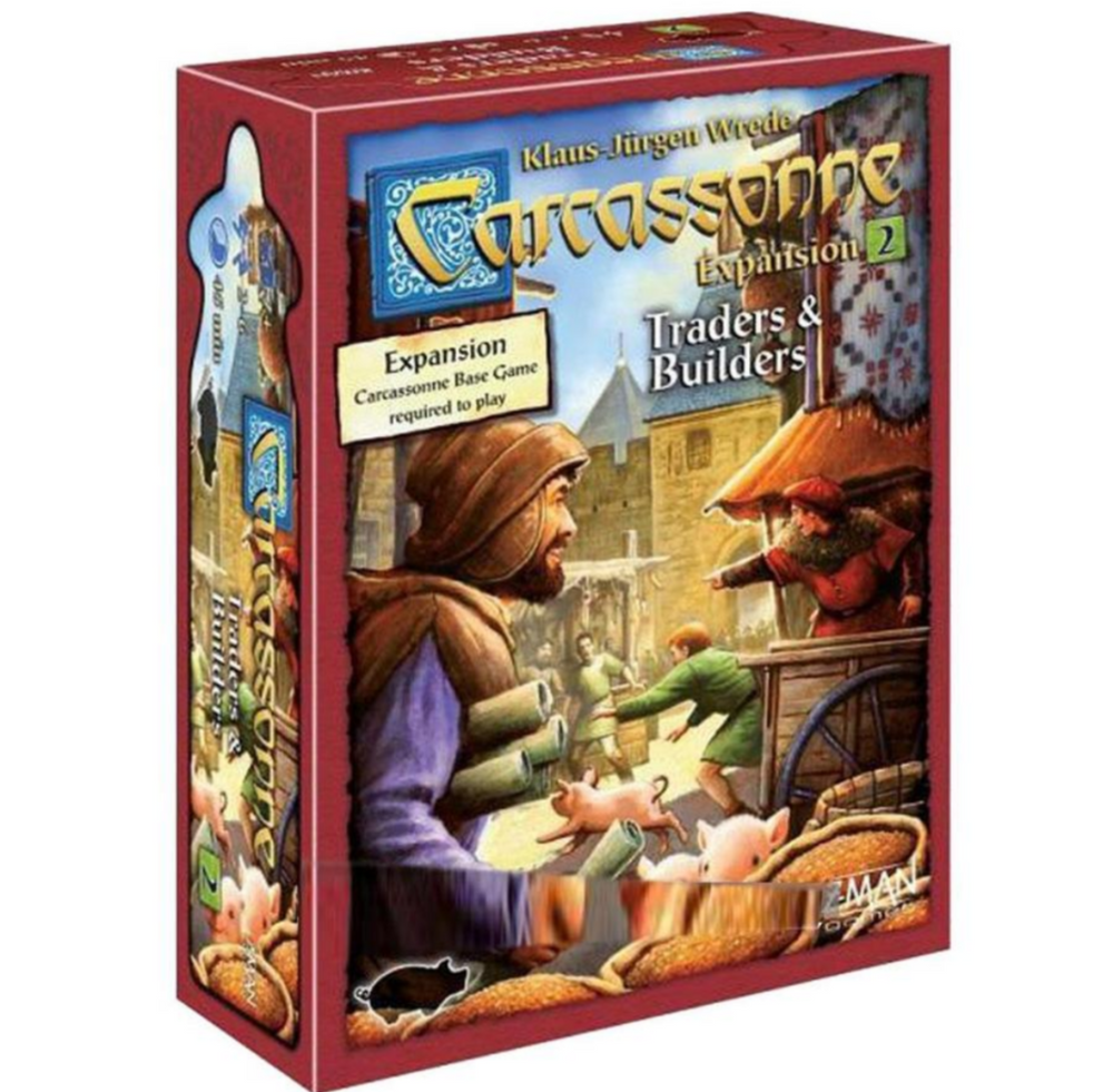 CARCASSONNE: TRADERS & BUILDERS 2nd Expansion