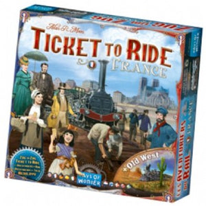 TICKET TO RIDE: FRANCE AND OLD WORLD EXPANSION