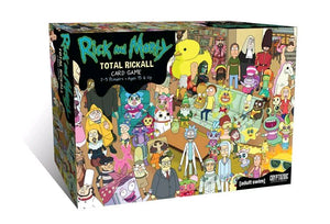 RICK AND MORTY TOTAL RICKALL CARD GAME