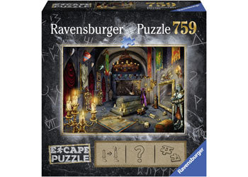 RAVENSBURGER ESCAPE VAMPIRE CASTLE PUZZLE