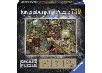 RAVENSBURGER ESCAPE THE WITCHES KITCHEN PUZZLE