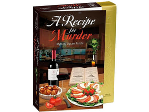 MURDER MYSTERY PUZZLE.. A RECIPE FOR MURDER